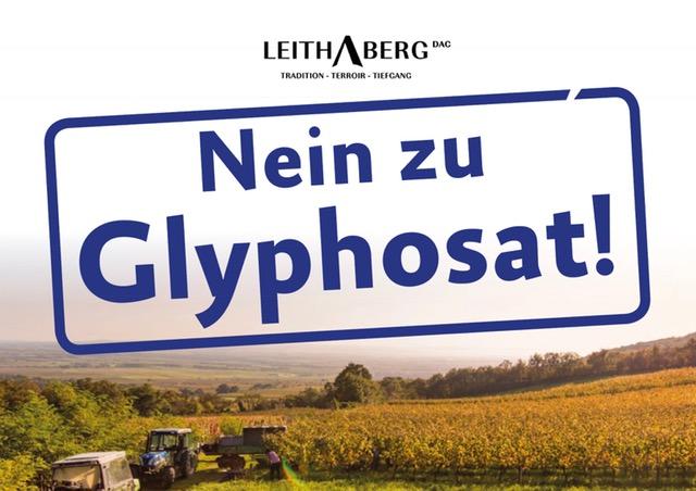 Leithaberg DAC: NEIN zu Glyphosat