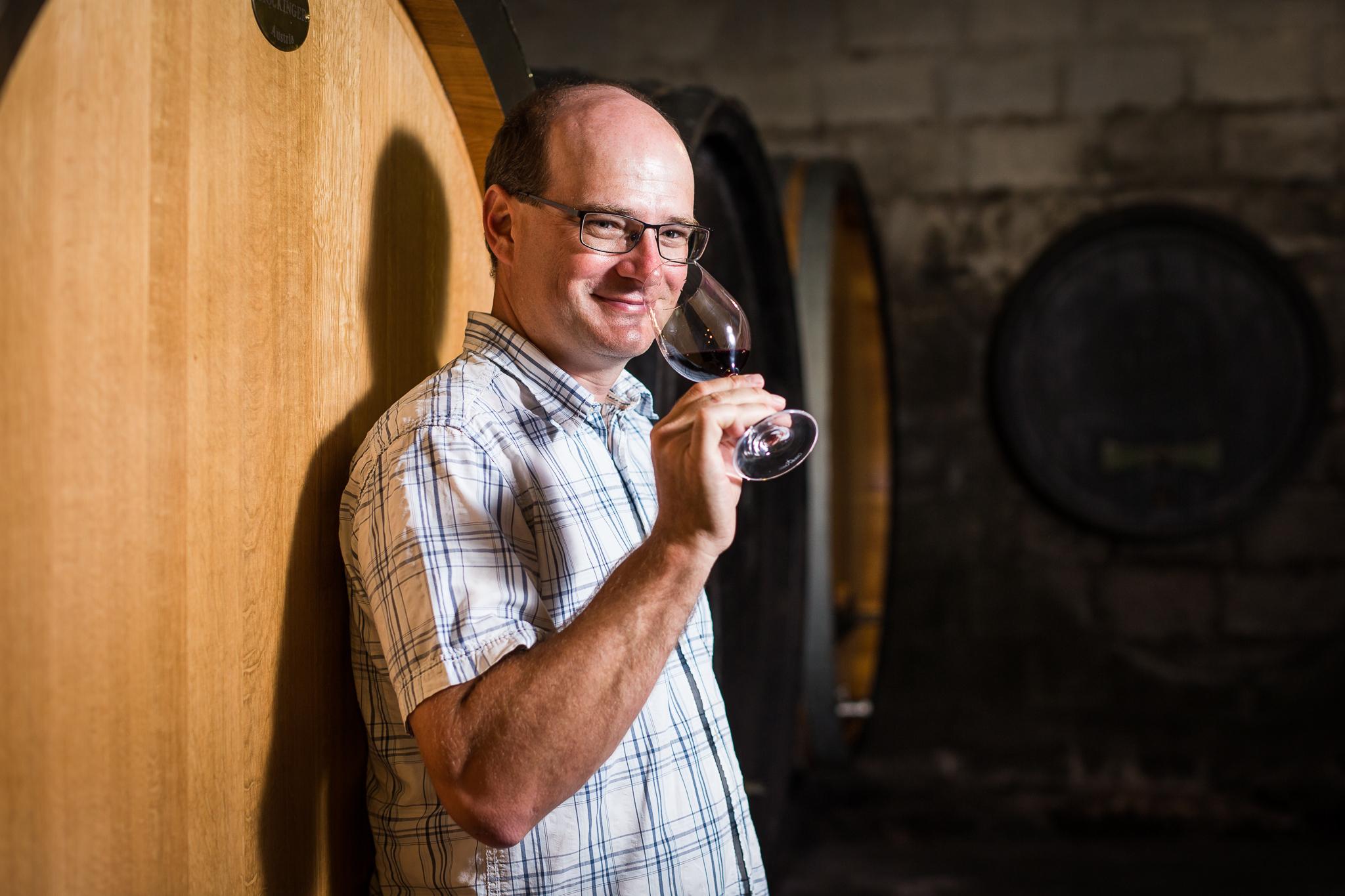 Bernhard Fiedler: guter Wein ist ein Spiegelbild…